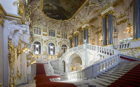 The Jordan Staircase The State Hermitage Museum, St